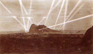 Gibraltar searchlights
